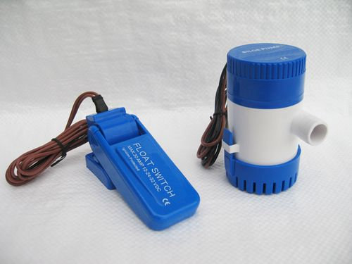 12V & 24V Submersible Bilge Pumps With Auto Float Switch
